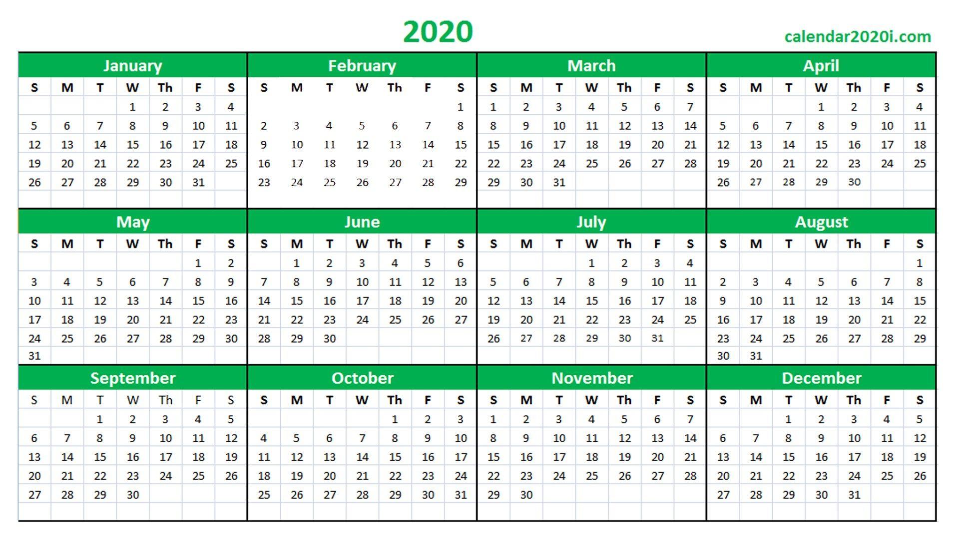 Printable Calendar 2020 16 – Welcome For You To Our Website inside Wincalendar April 2020