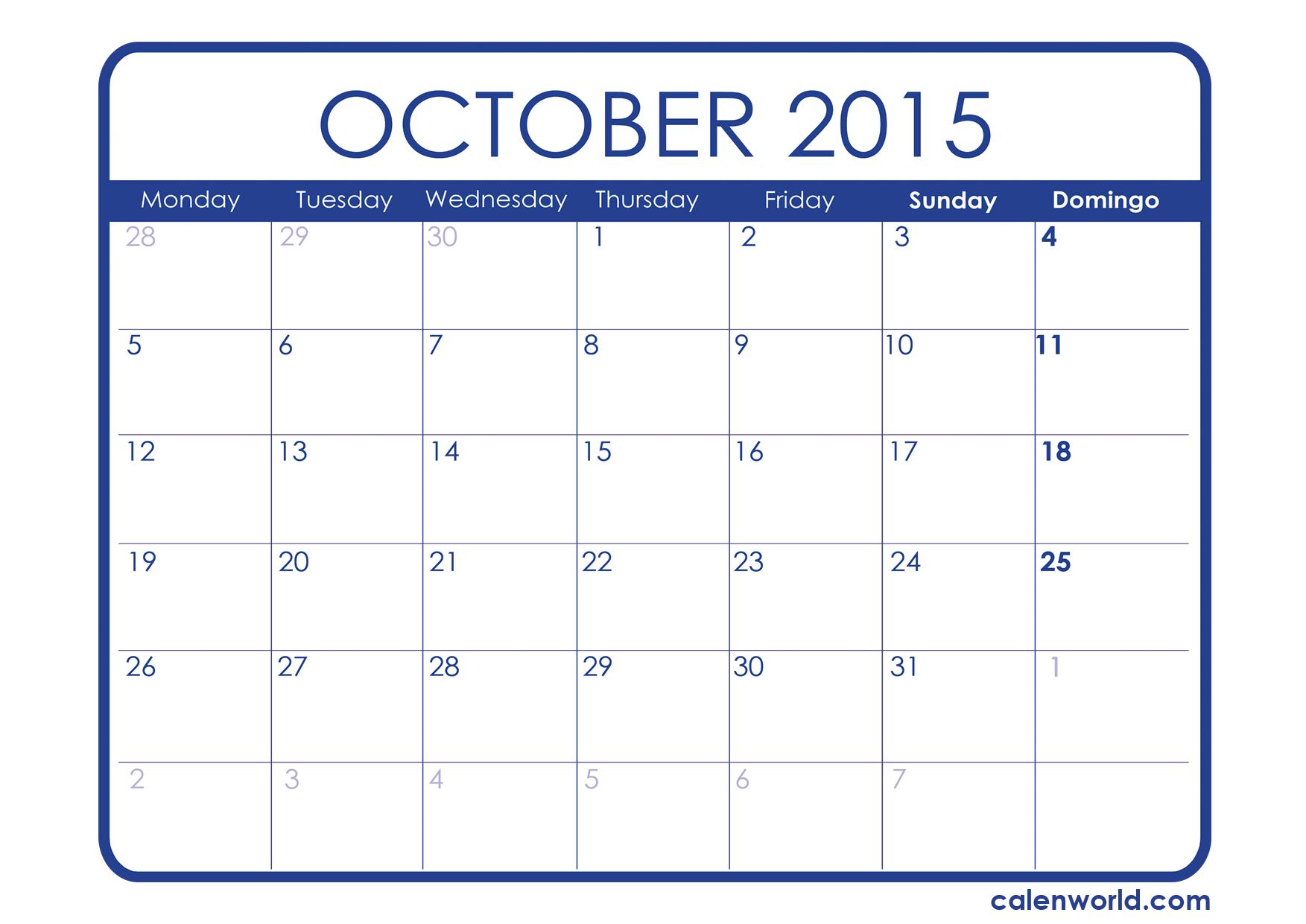 Printable Calendar | Calendars within December 2015 Calendar Printable