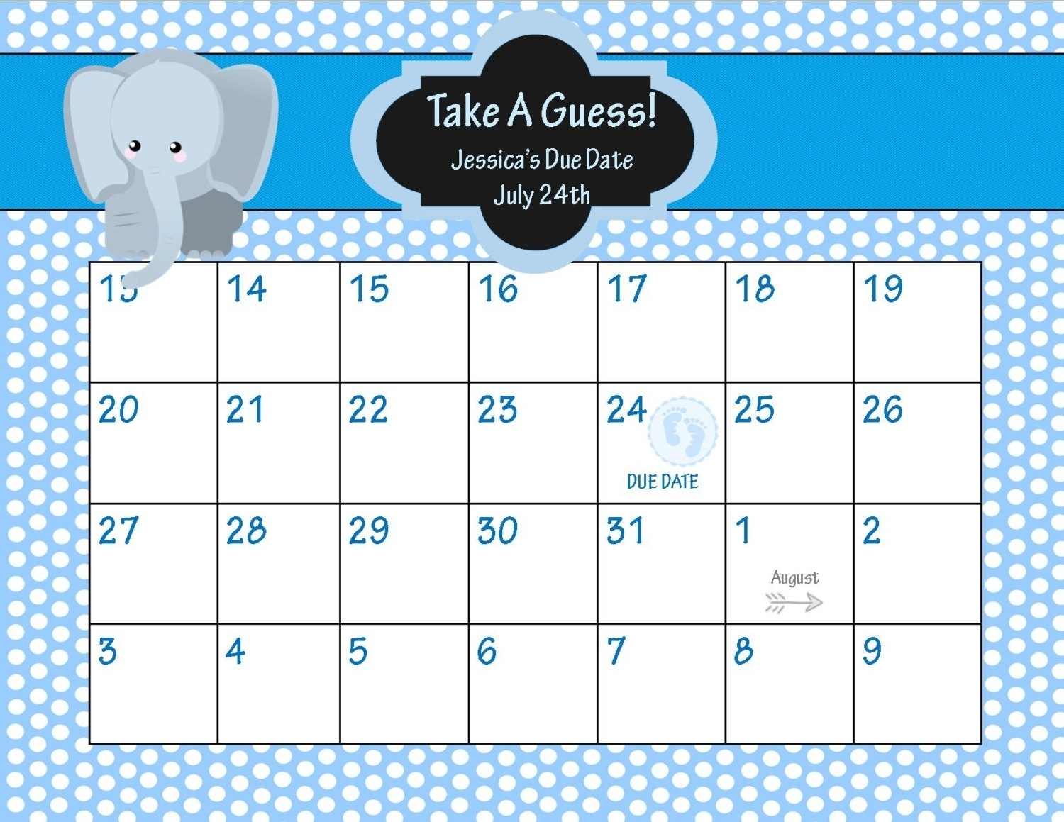 Printable Pregnancy Calendar Countdown | Monthly Printable regarding Printable Pregnancy Calendar
