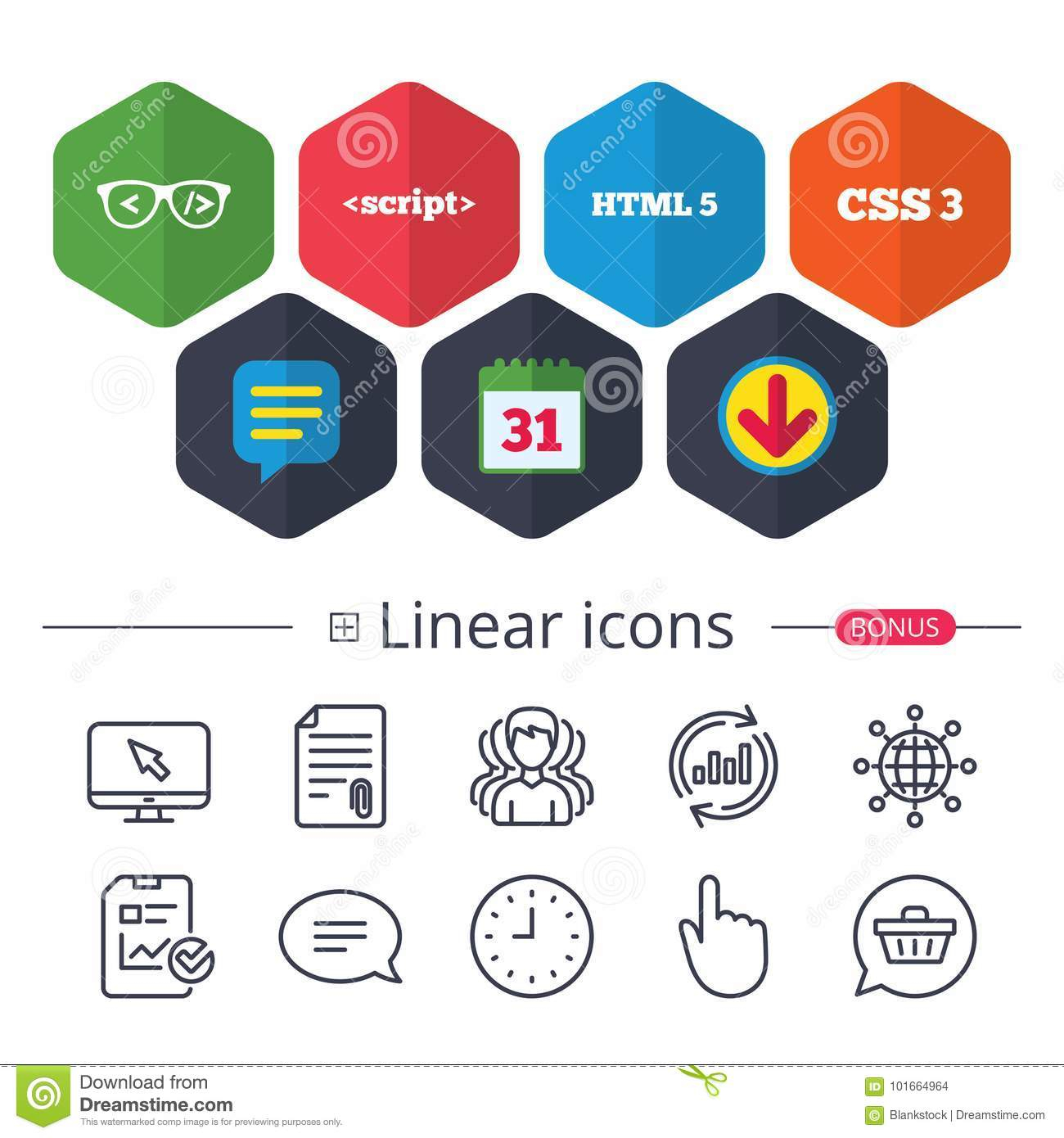 Programmer Coder Stock Vector. Illustration Of Markup within Css Calendar Icon