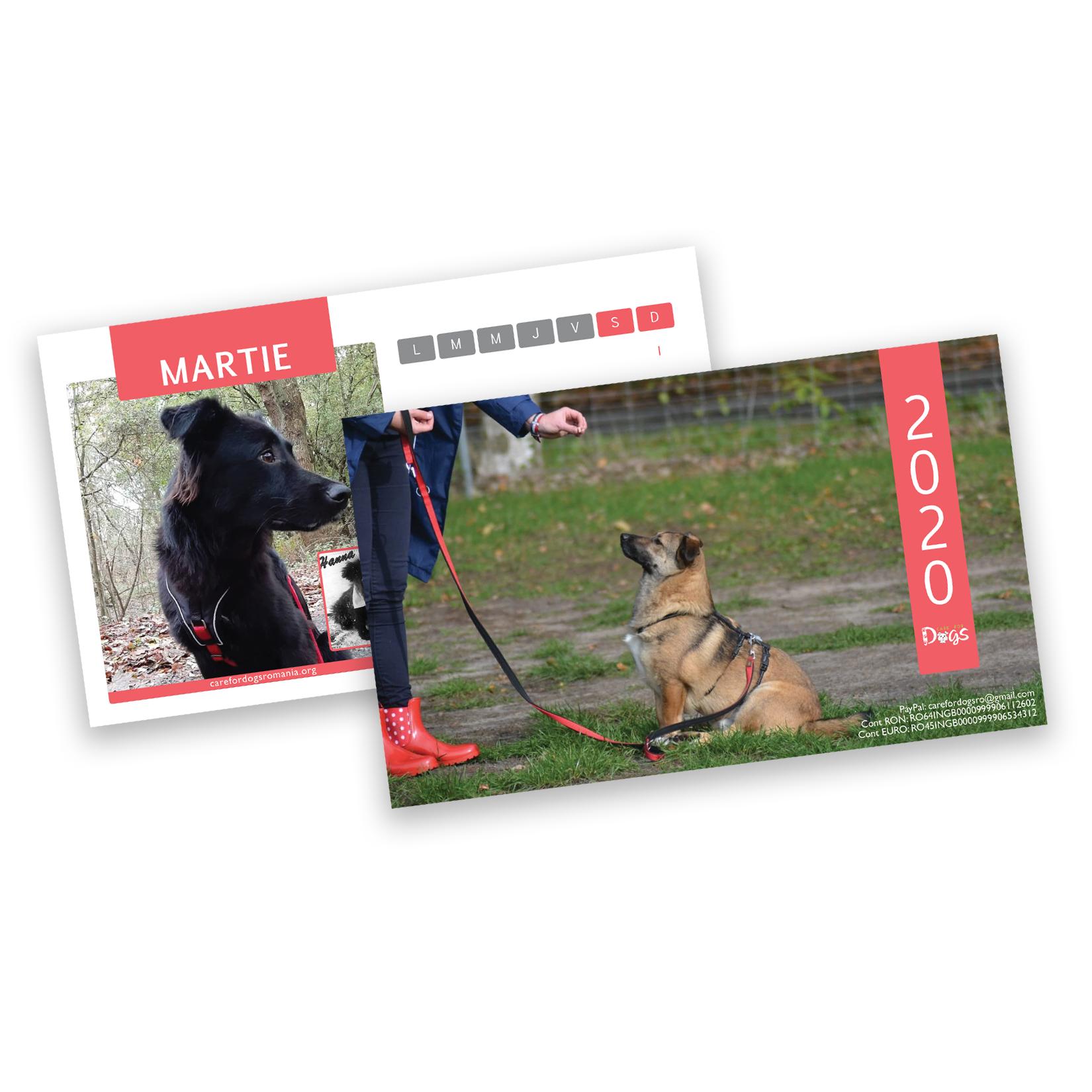 Purchase Care For Dogs Romania 2020 Calendar regarding Calendar Martie 2020