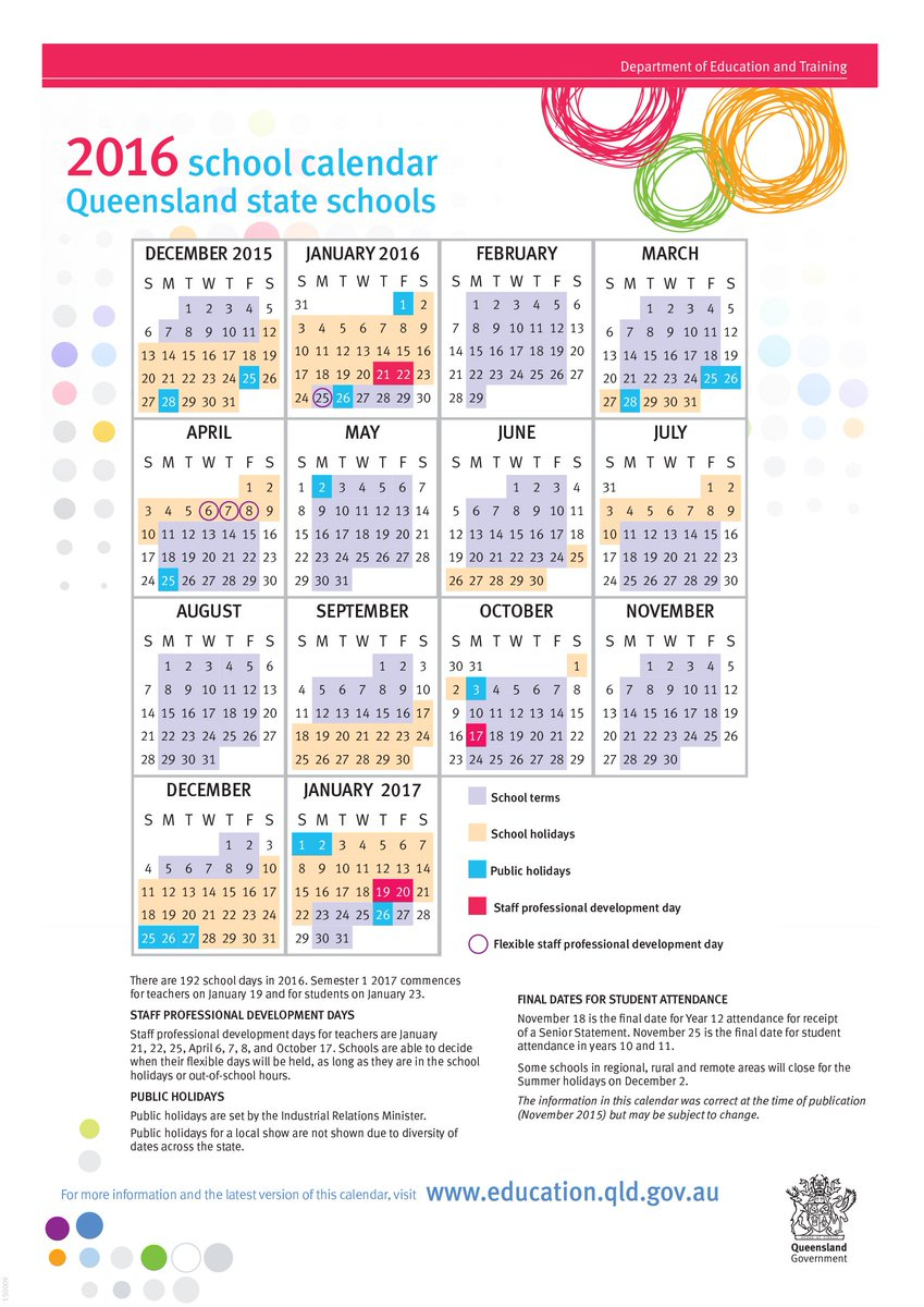 """Queensland Department Of Education On Twitter: """"the Min For intended for Calendar 2020 Qld"""