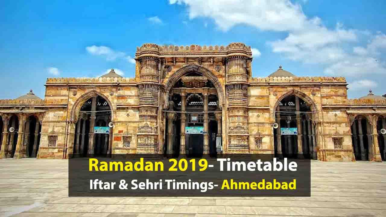 Ramadan Timetable 2019: Iftar And Sehri Timings In Ahmedabad pertaining to Lunar Calendar Isha