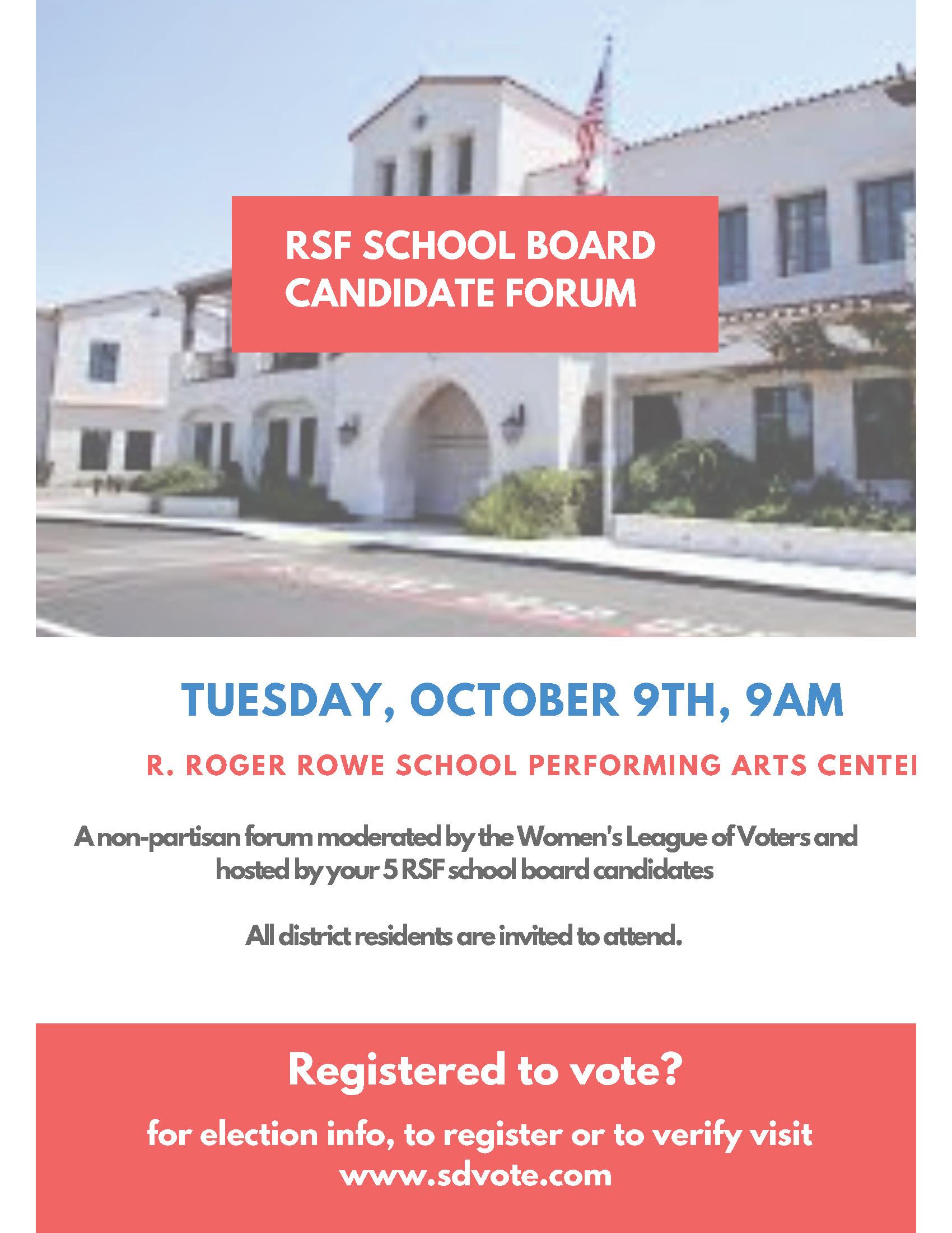 Rancho Santa Fe Association  Calendar Event  Rsf School with regard to R Roger Rowe School Calendar