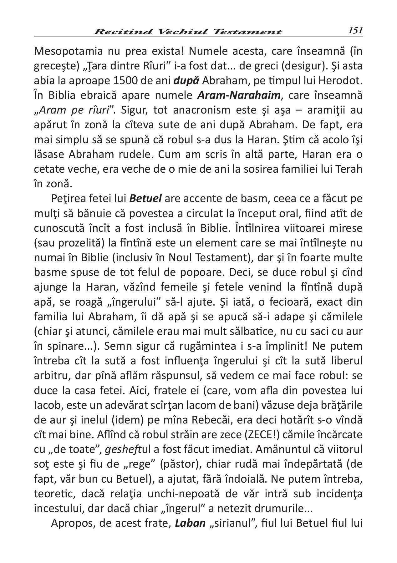 Recitind Vechiul Testament, Autor Nick Sava Pages 151  200 in Calendarul Lunar Pentru Sanatate Si Frumusete