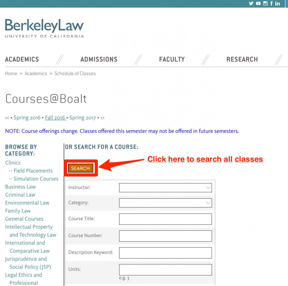 Registration | Berkeley Law intended for Berkeley Academic Calender