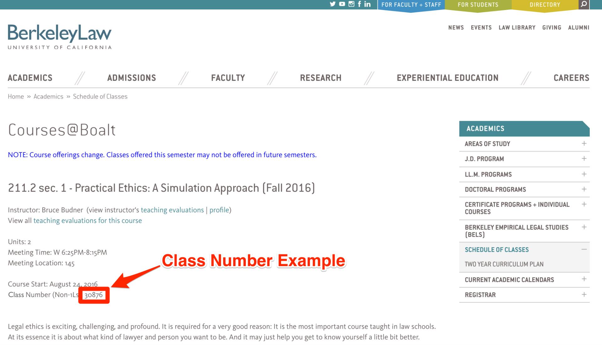 Registration | Berkeley Law pertaining to Berkeley Law Academic Calendar