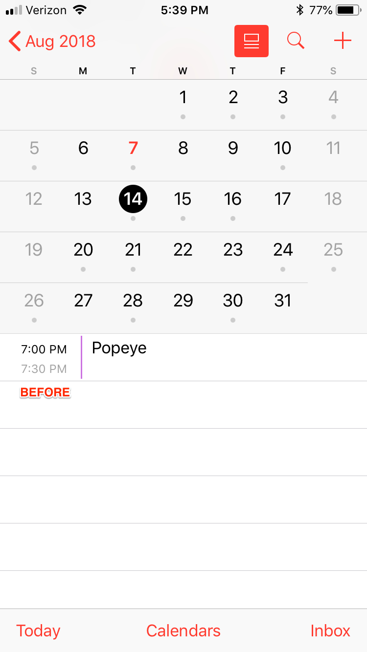 Removing Many Events Causes Them To Sporadically Reappear throughout Iphone Calendar Deleted Events Reappear