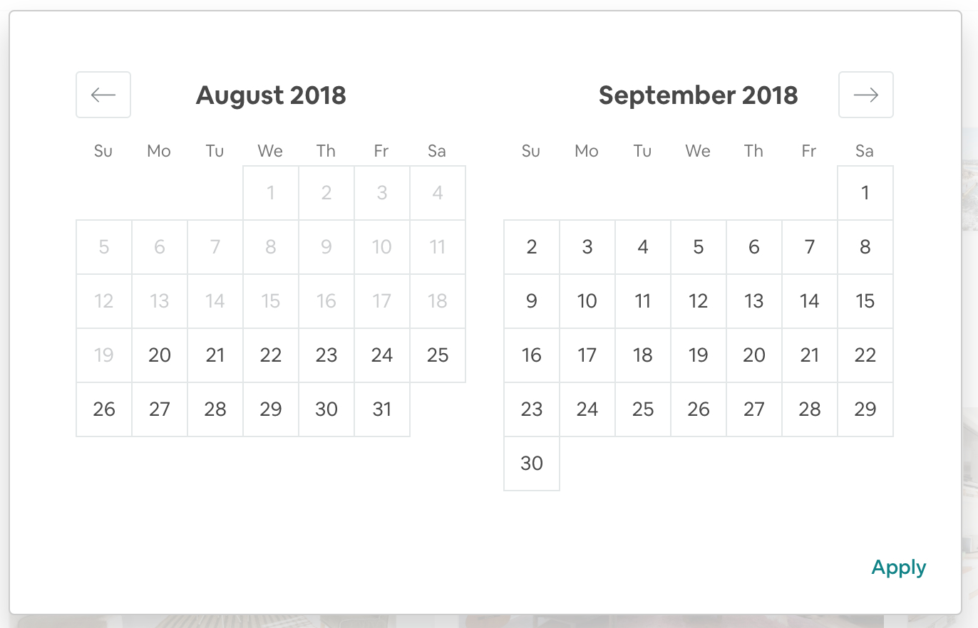 Render Date Picker Within Custom Container · Issue #1150 with regard to React Datepicker Calendar Icon