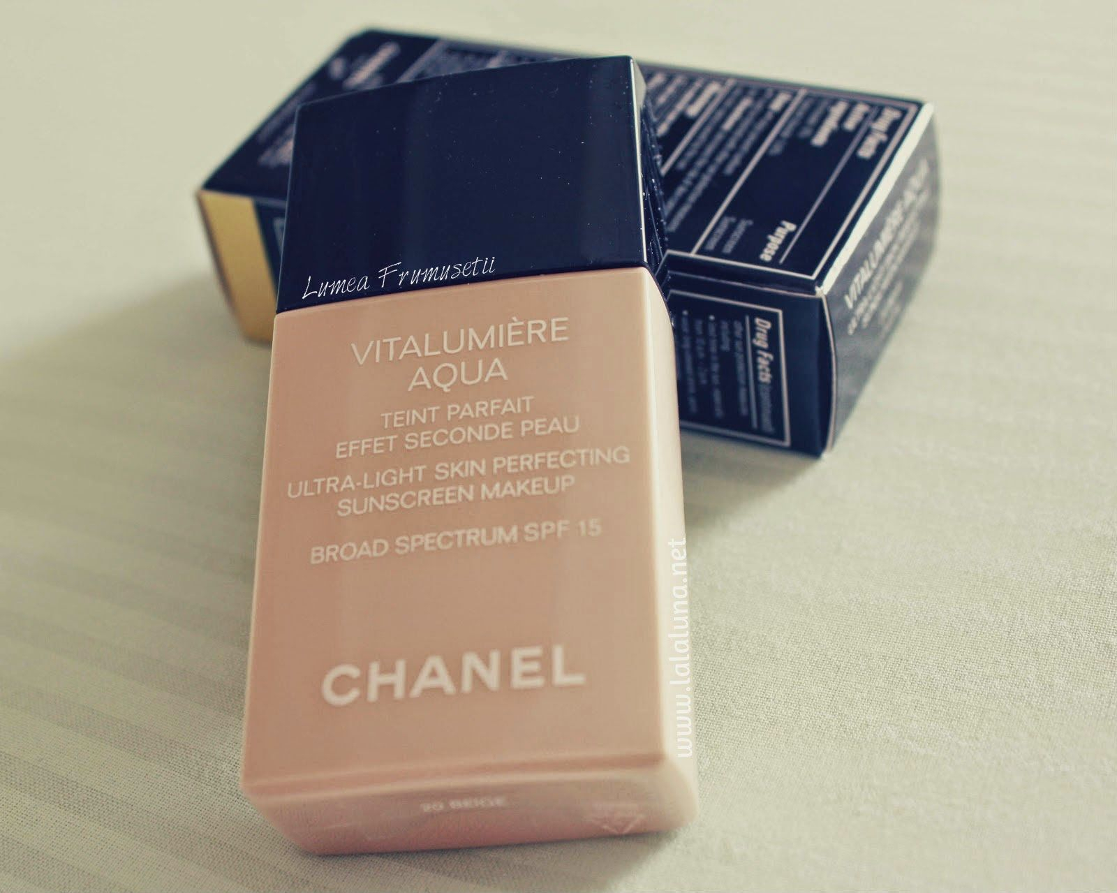 Review Chanel Vitalumiere Aqua Spf15 | Chanel Vitalumiere with regard to Calendar De Sanatate Si Frumusete
