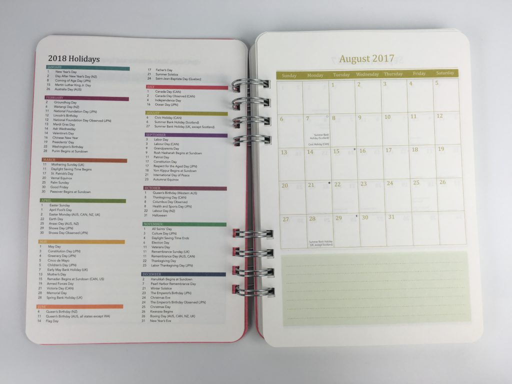 Review Of The Do It All Weekly Planner By Orange Circle throughout All About Planners