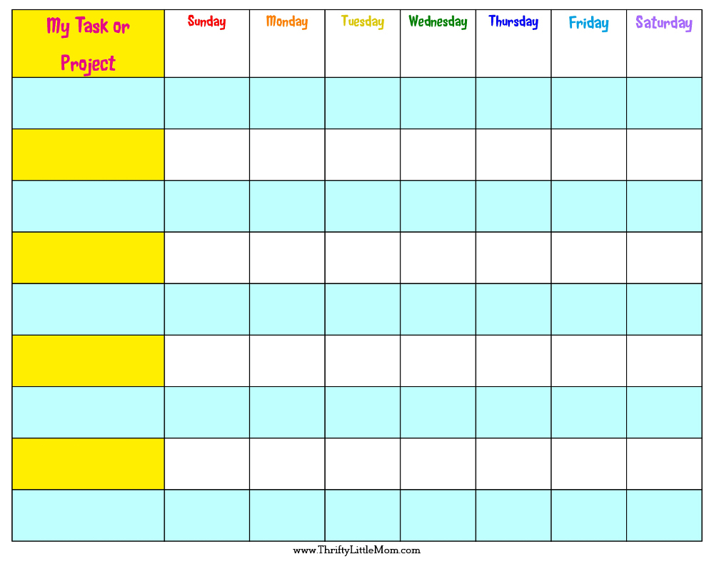 Reward Charts For Toddlers Free Printable  Topa with Monthly Behavior Charts