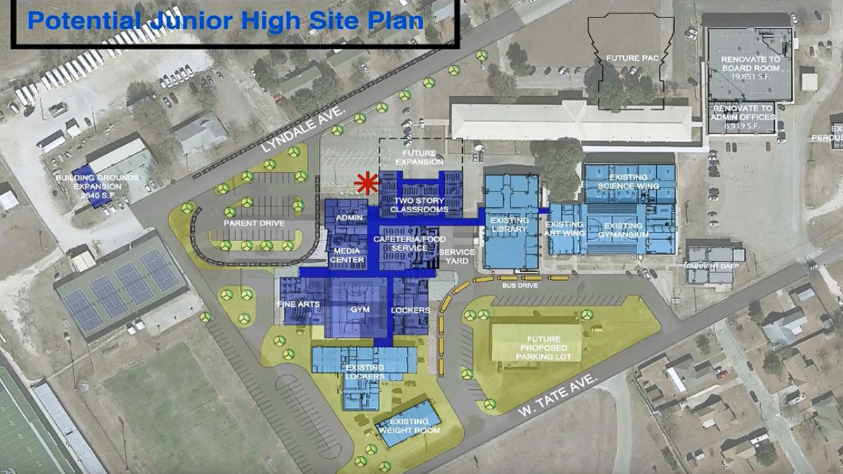 Robinson: School District Mulls Bond Election regarding Robinson Isd School Calendar
