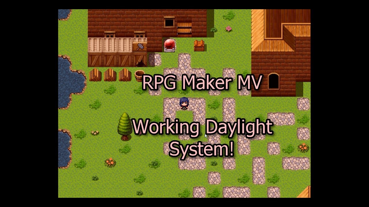 Rpg Maker Mv  Daylight System, Clock Item, Time System, And Timespecific  Events! Rpg Howto. with regard to Rpg Maker Mv Clock