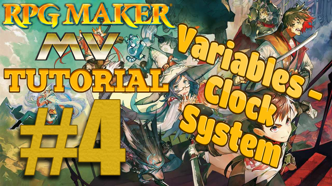 Rpg Maker Mv Tutorial World  Variables: Clock System By within Rpg Maker Mv Clock