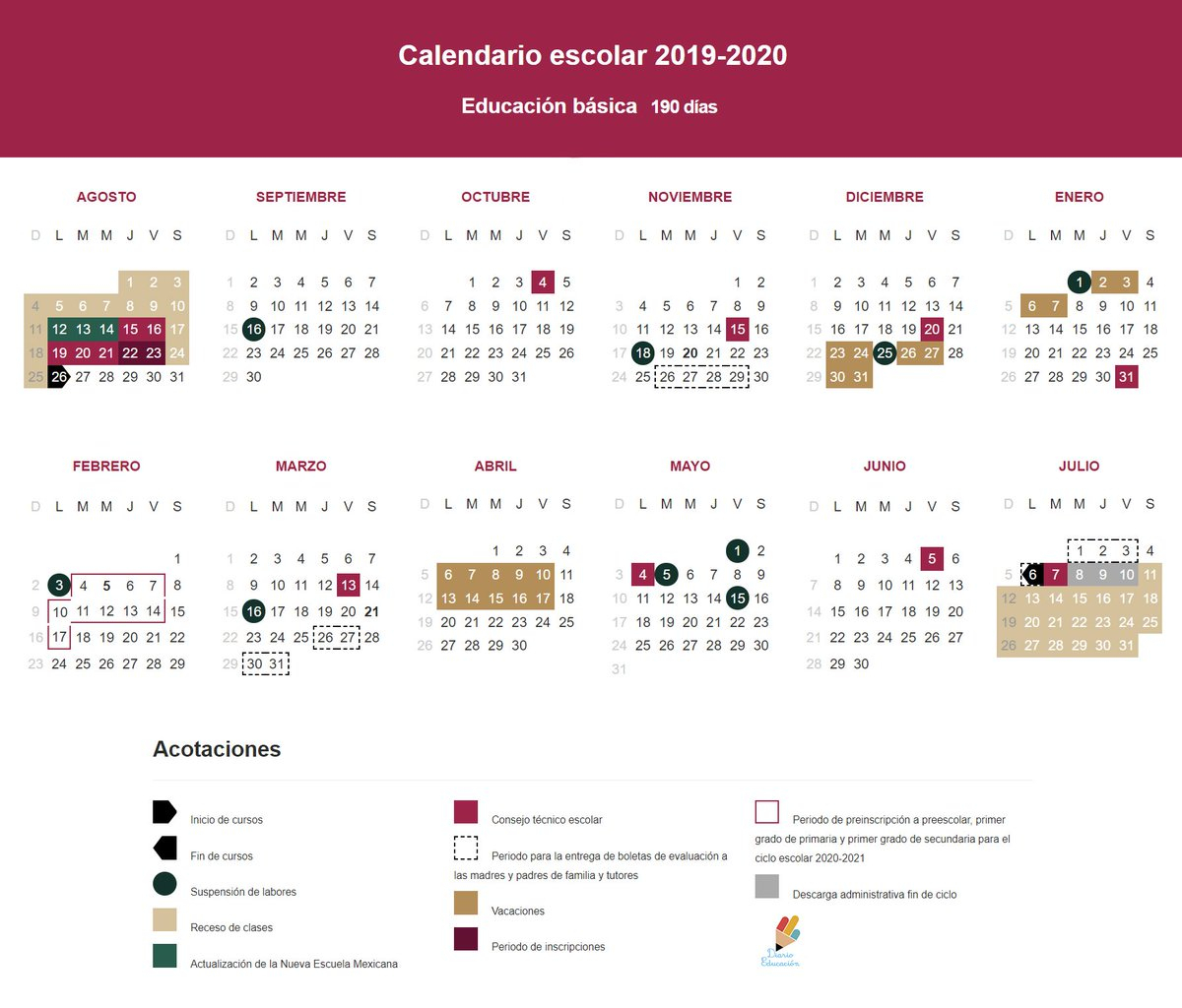 "S.t.i.r.t.t.nacional على تويتر: ""#sep Da A Conocer El regarding Calendario Escolar Sep 2020 2020"