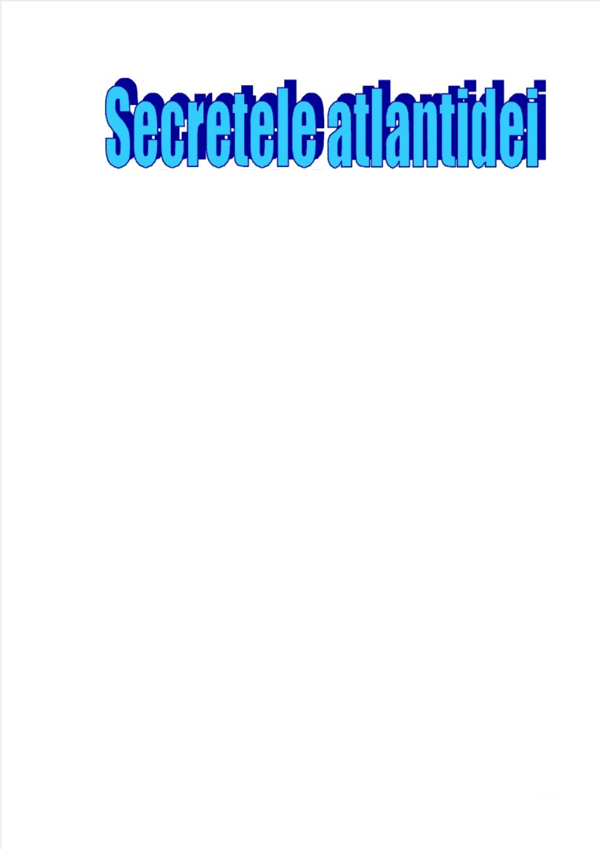 Samuel Sagan Secretele Atlantidei intended for Calendar De Sanatate Si Frumusete
