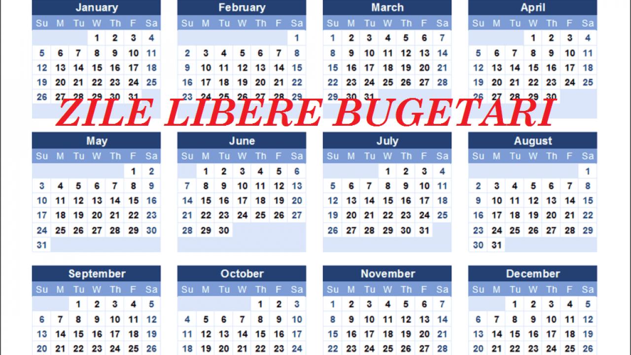Sau Stabilit Zilele Libere Pentru Anul 2020 intended for Calendar 2020 Cu Zile Lucratoare