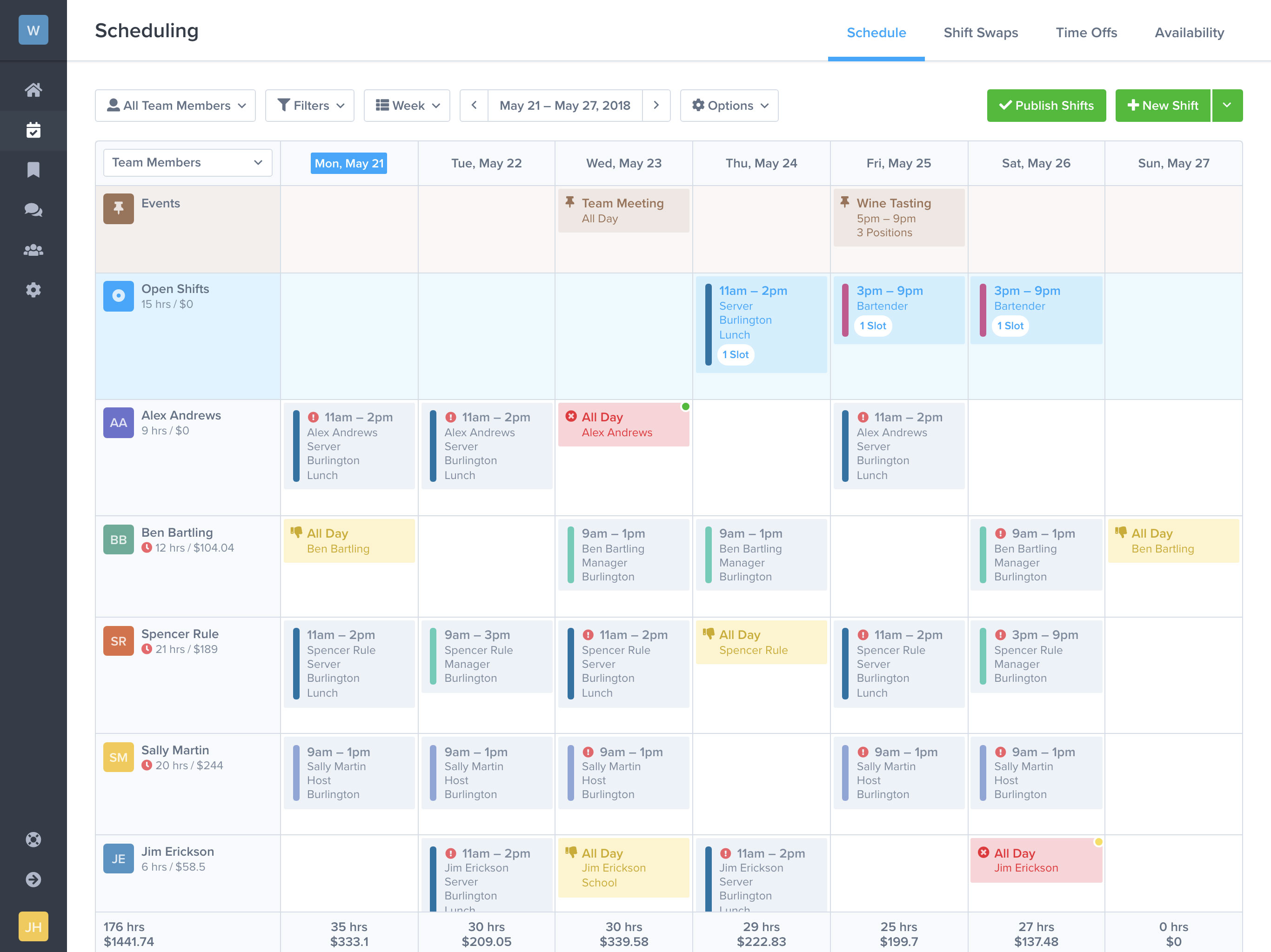 Schedule Creater  Topa.mastersathletics.co in Employee Schedule Creator