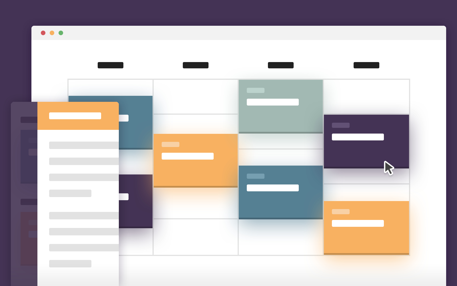 Schedule Template – Display Events On A Timeline (Css in Calendar Template Html Css