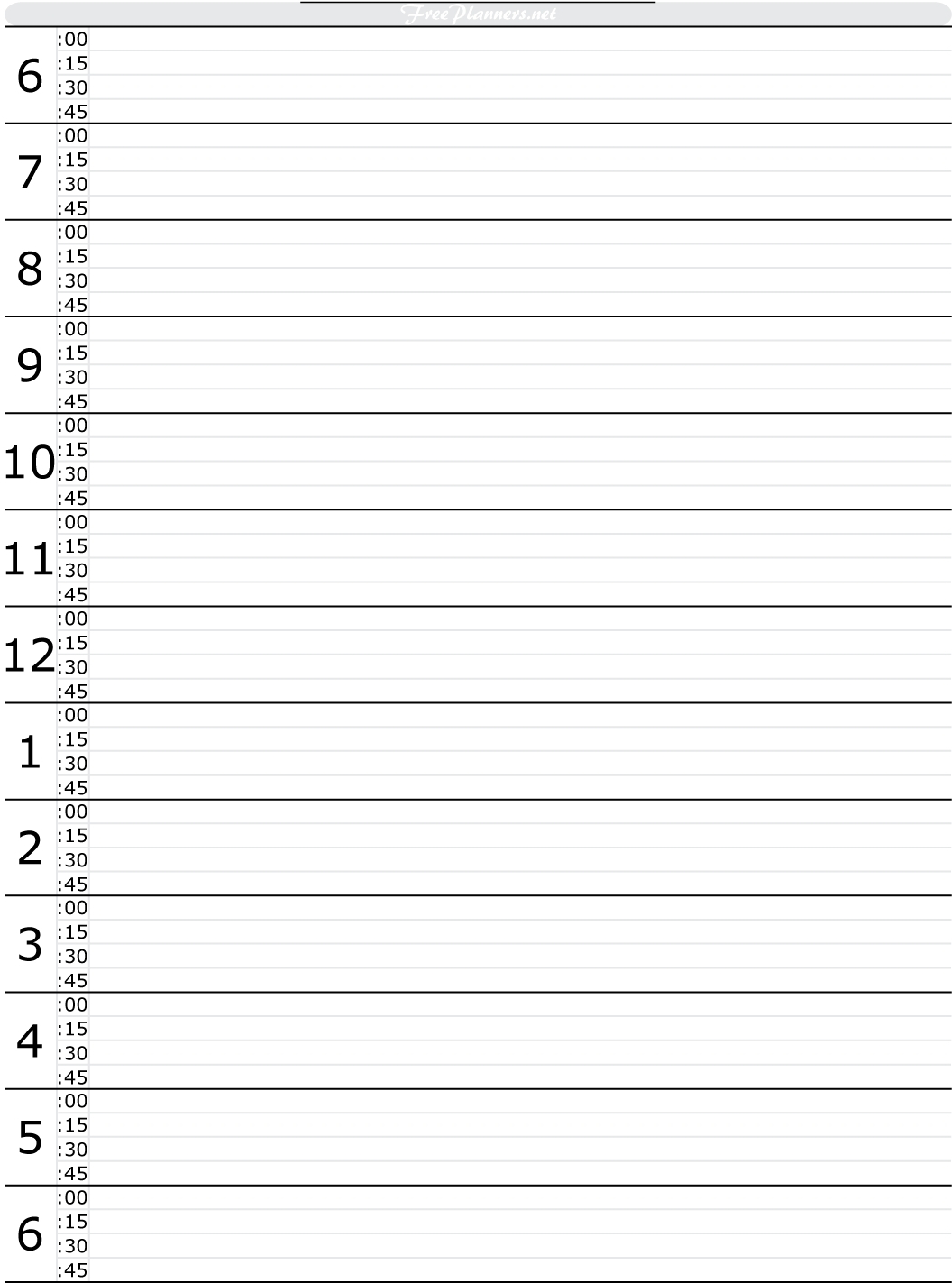 Scheduling Half Hour By Hour Day Planner | Example Calendar throughout Free Printable Hourly Planner