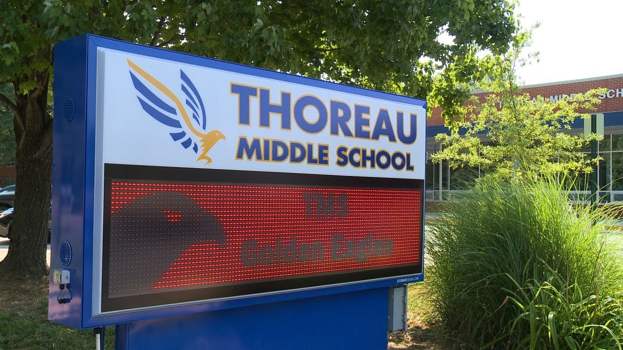 School History | Thoreau Middle School regarding Thoreau Middle School Blue Gold Calendar
