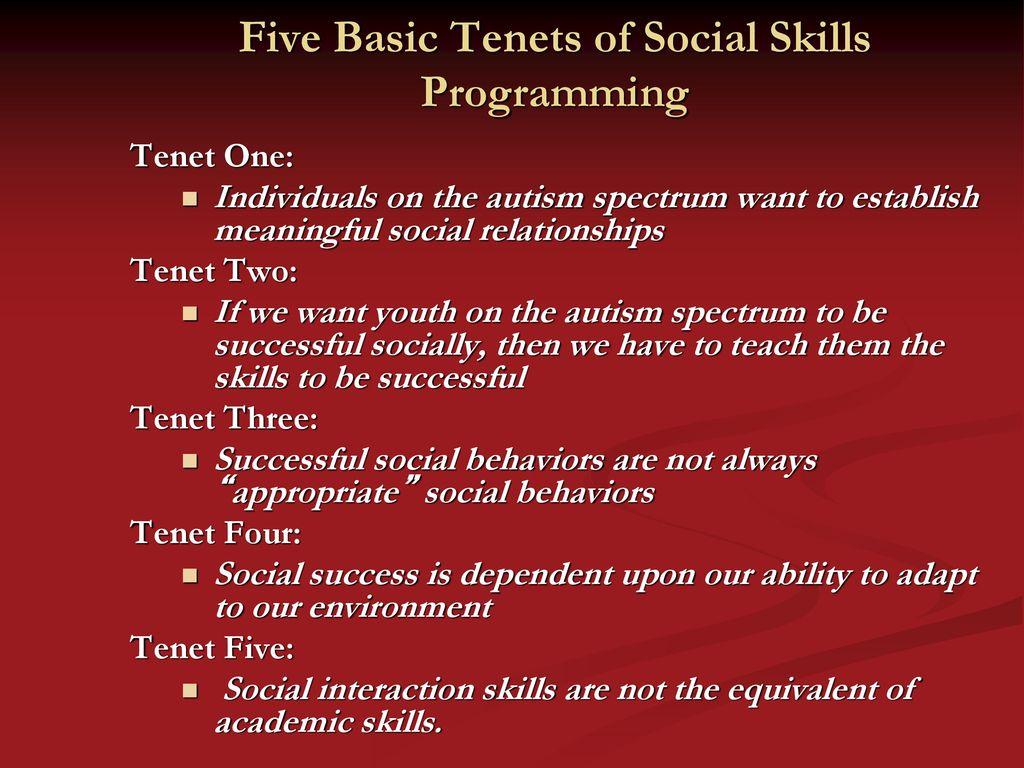 Scott Bellini, Ph.d., Hspp Director Social Skills Research within Autism Social Skills Profile 2 Scoring Interpretation