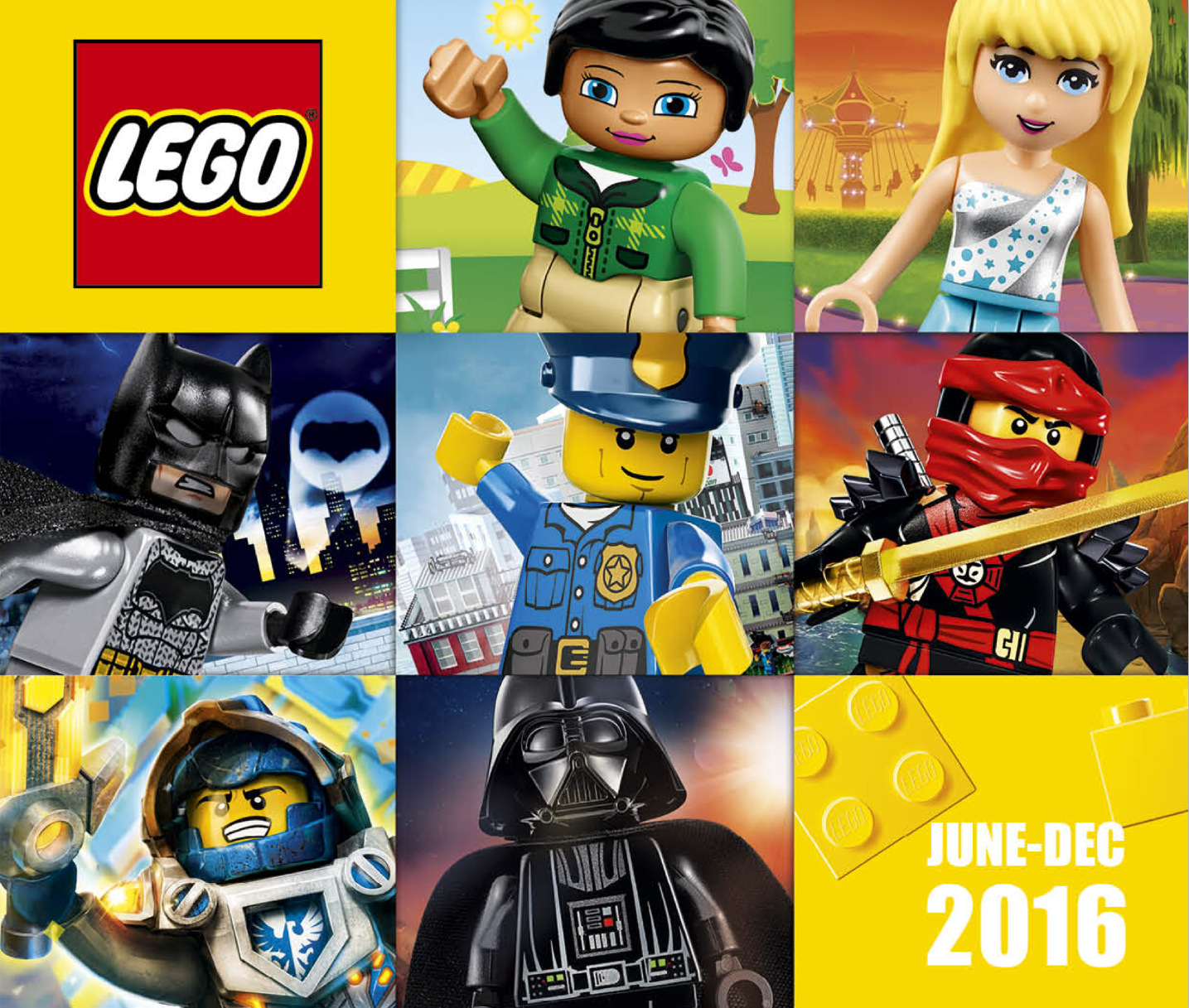 Second Half 2016 Lego Catalogue (June – December) – Jay's within Jay's Brick Blog