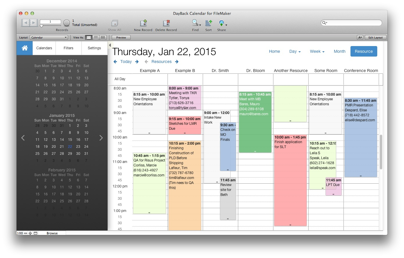 Seedcode Calendar Addon: 25% Off Through Year End intended for Filemaker Calendar Template