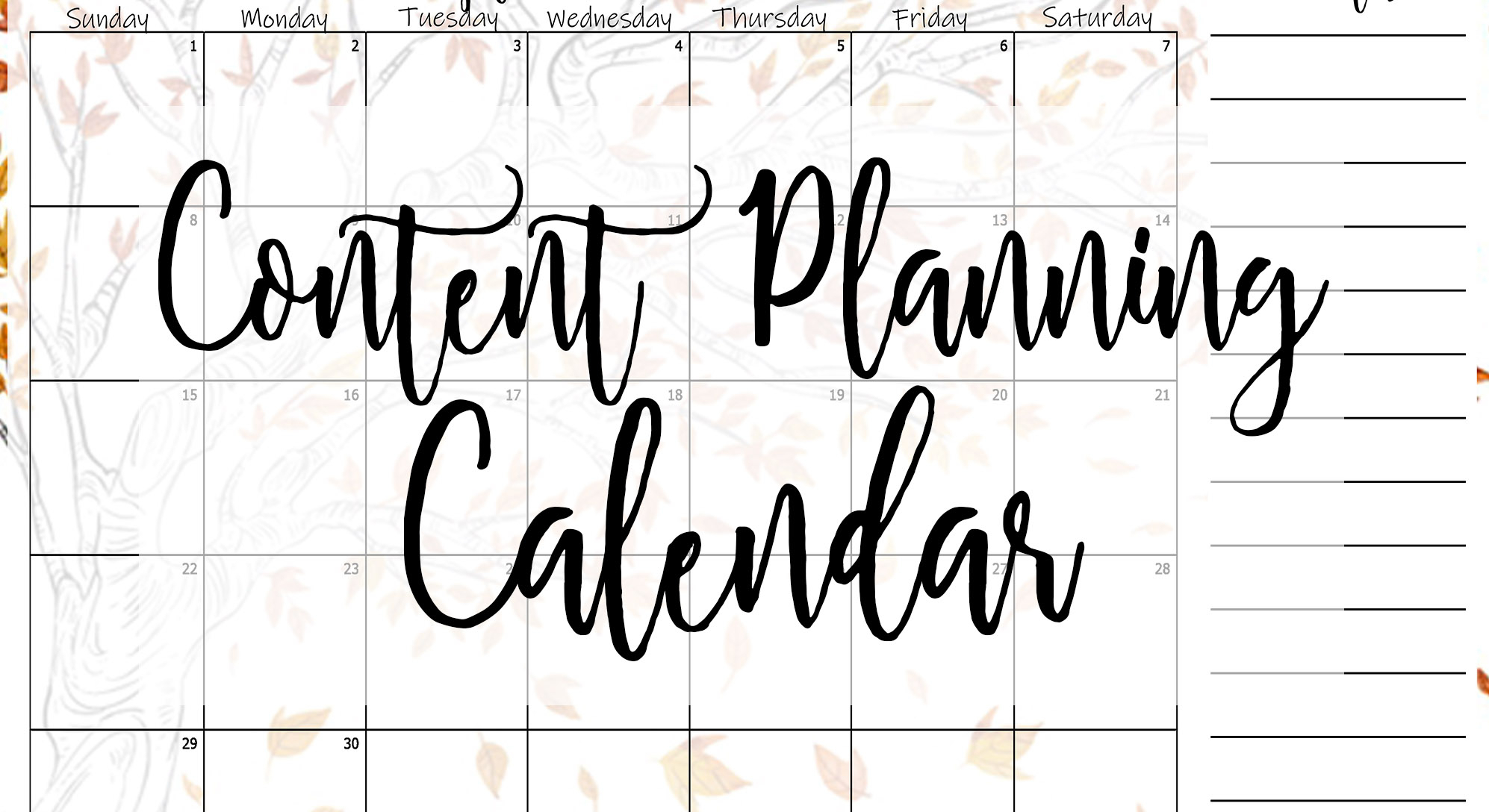 September Content Planner Calendar Template – Elaine Howlin intended for Emoji Blitz Calendar 2020