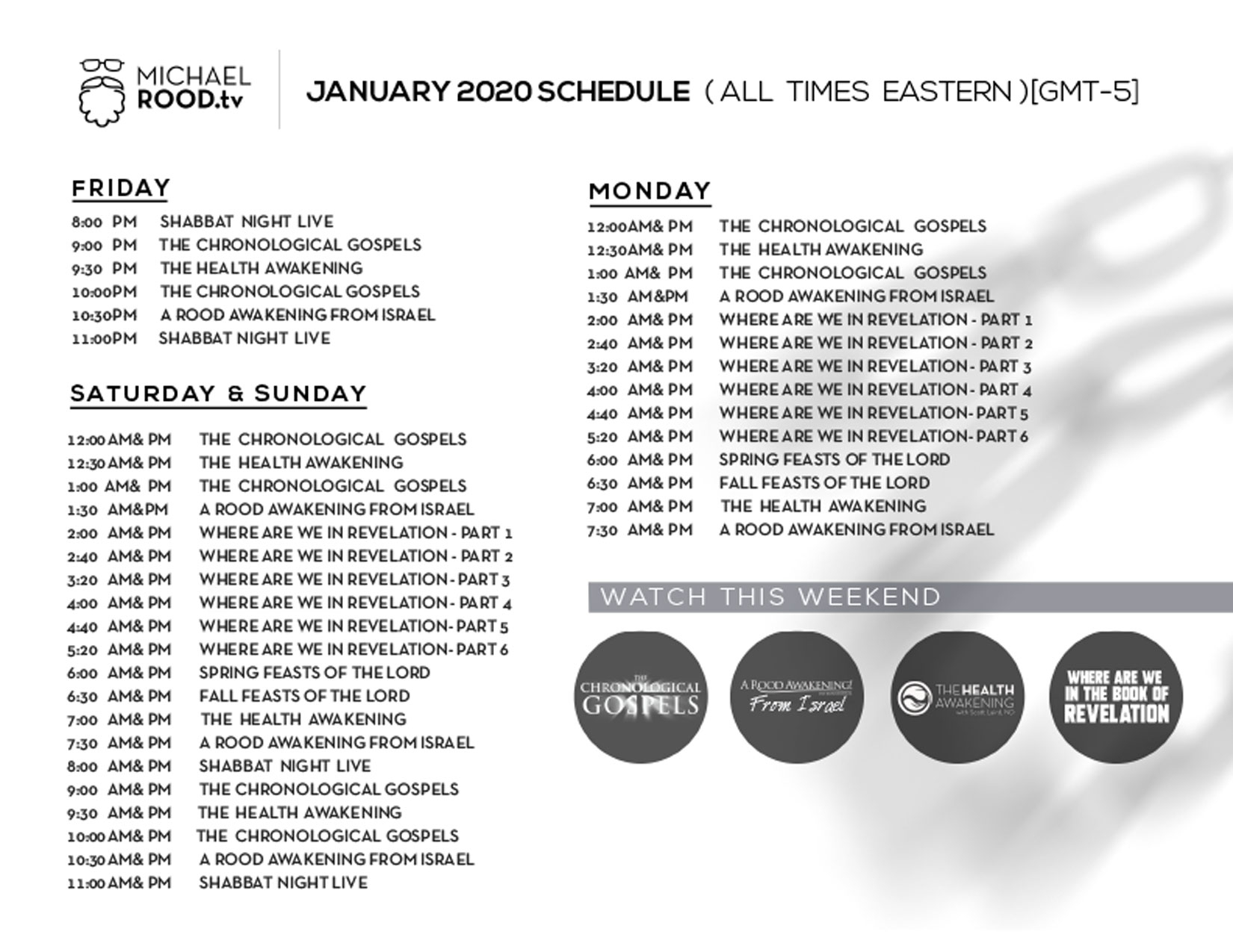Shabbat Night Live | A Rood Awakening! International regarding A Rood Awakening Calendar