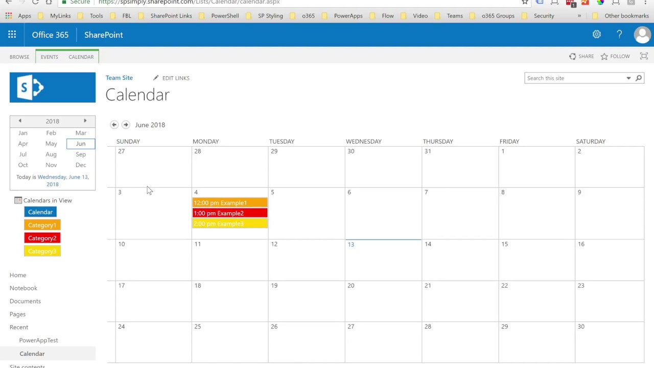 Sharepoint: Customize The Colors For Calendar Overlays in Sharepoint Calendar Overlay Duplicate Events