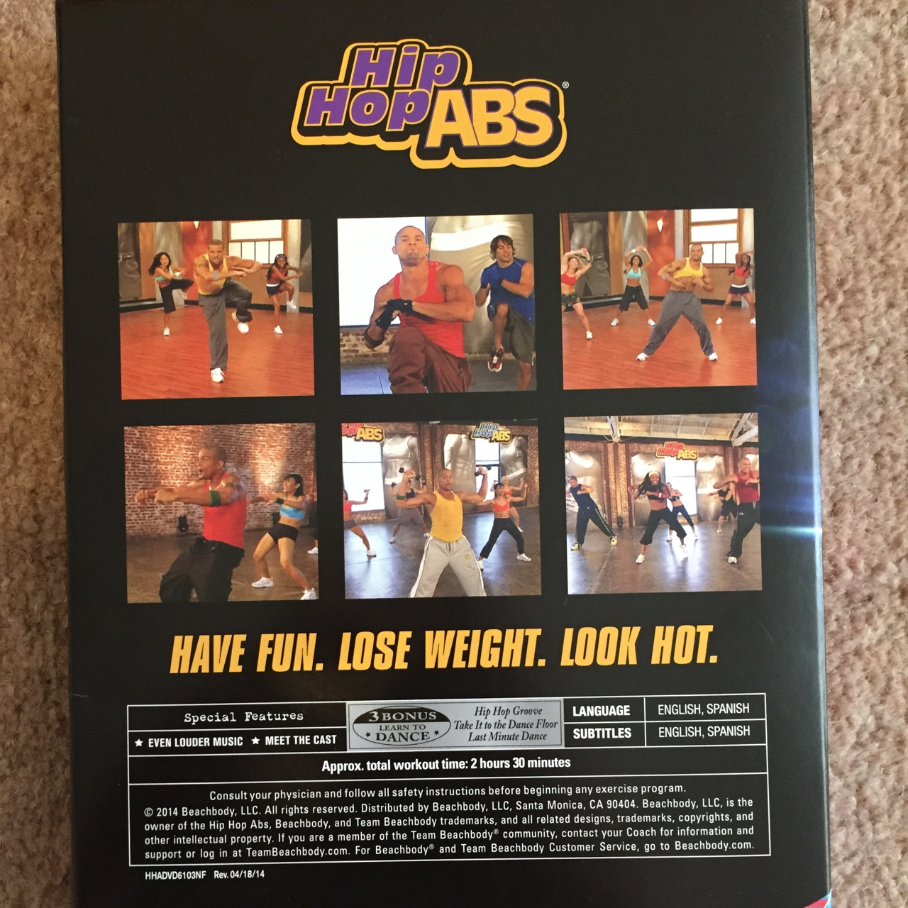 Shaun T Hip Hop Abs Fitness Dvd. Selling For A  Depop with regard to Hip Hop Abs Calendar