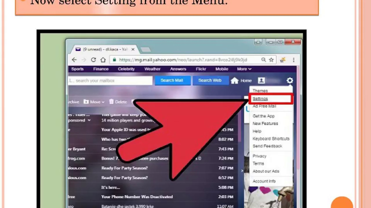 Simple Steps To Connect Facebook Account In Yahoo Mail with regard to How To Connect Yahoo To Facebook
