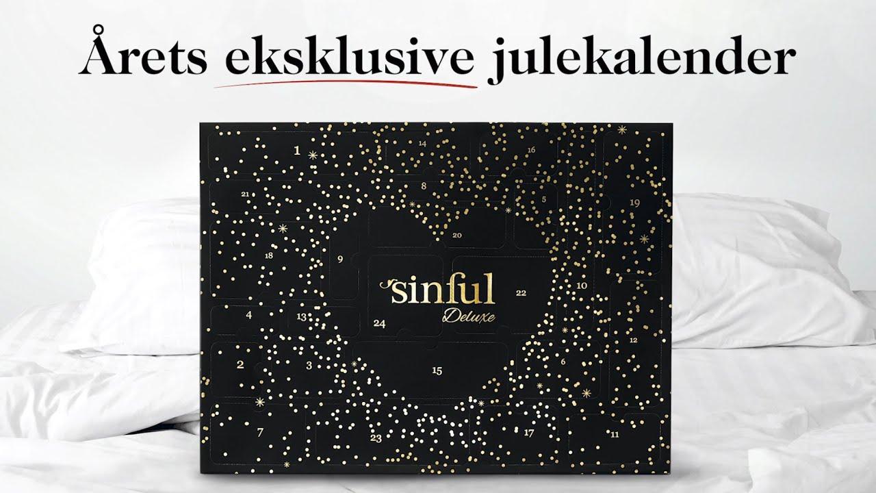 Sinful Deluxe Julekalender 2019  Årets Frækkeste Og Mest Eksklusive  Julekalender. regarding Sinful Advent Calendar