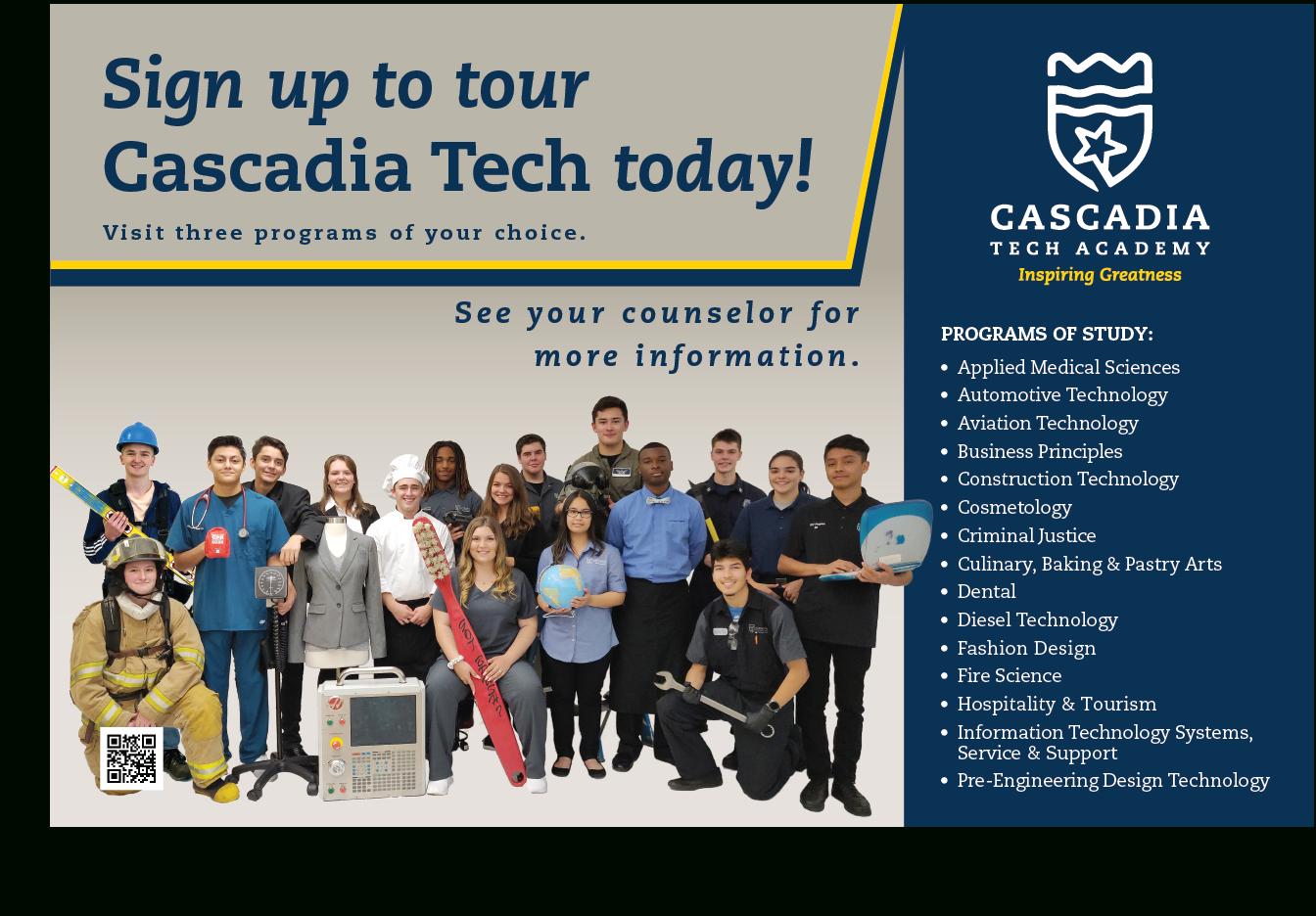 Sophomore Tours 2020 – Cascadia Tech Academy in Cascadia Tech Academy Calendar