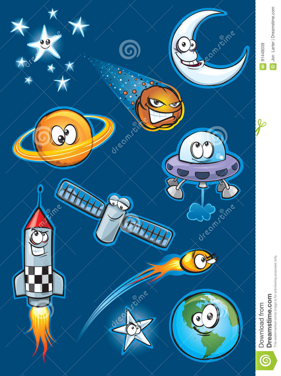 Space Icon Set Stock Vector. Illustration Of Home, Orange with regard to Space Related Pictures