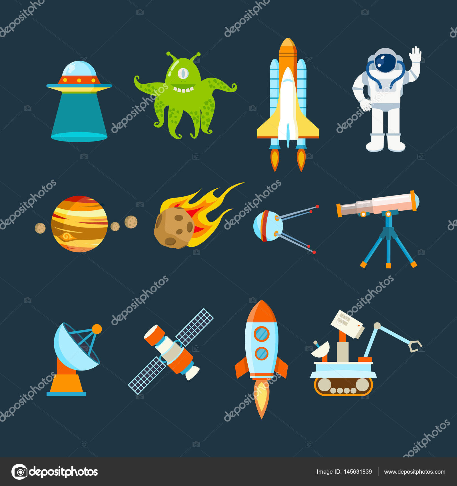 Space Theme, Transport, Planets, Objects, Satellites inside Space Related Pictures