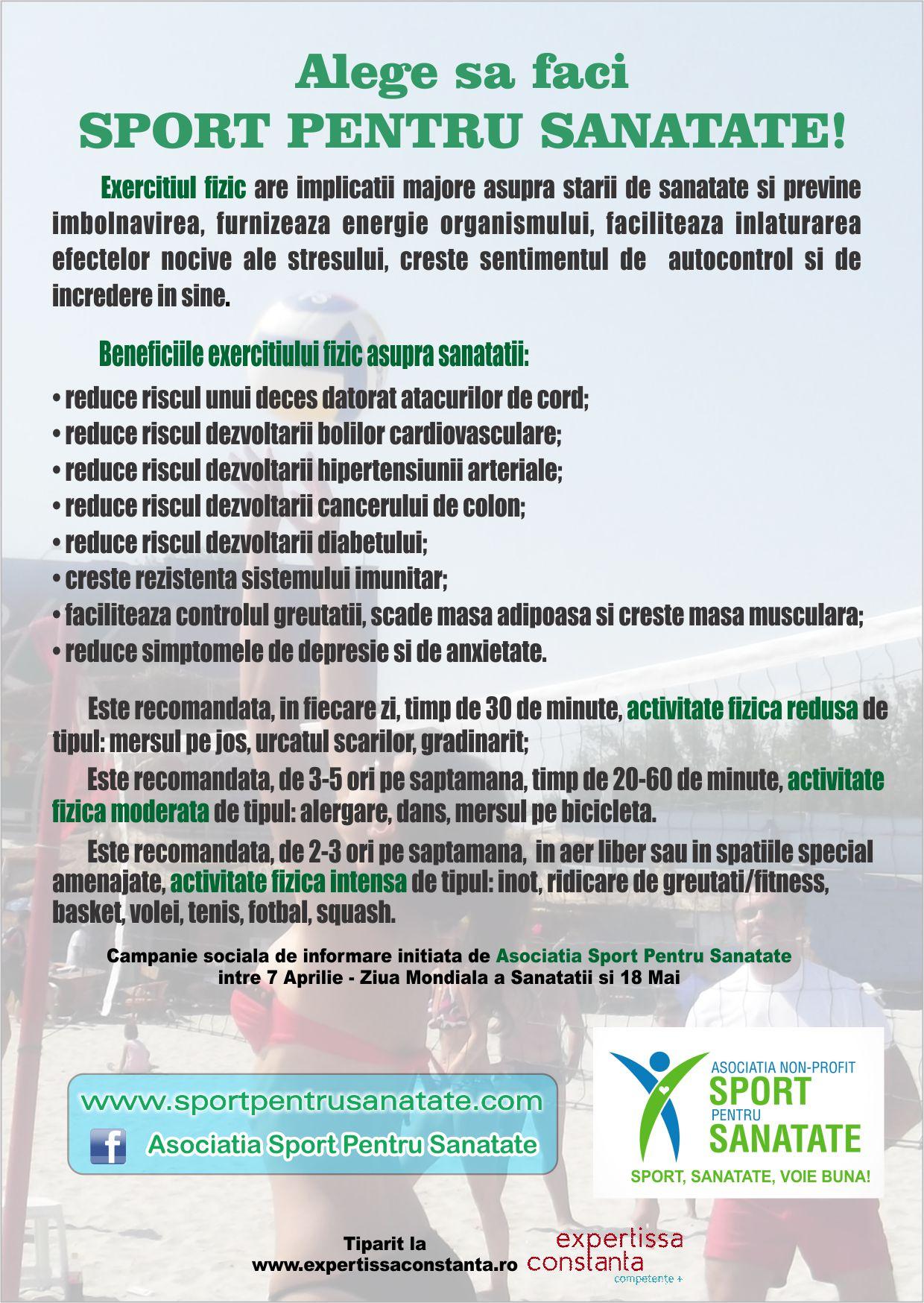 Sport Pentru Sanatate :: Sanatate,frumusete,relaxare Si throughout Calendar De Sanatate Si Frumusete