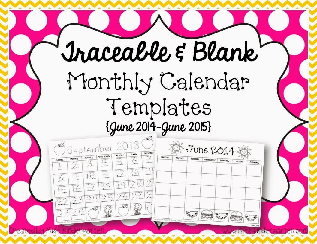 Spring Break | Monthly Calendar Template, Calendar Numbers inside Preschool Monthly Calendar Template