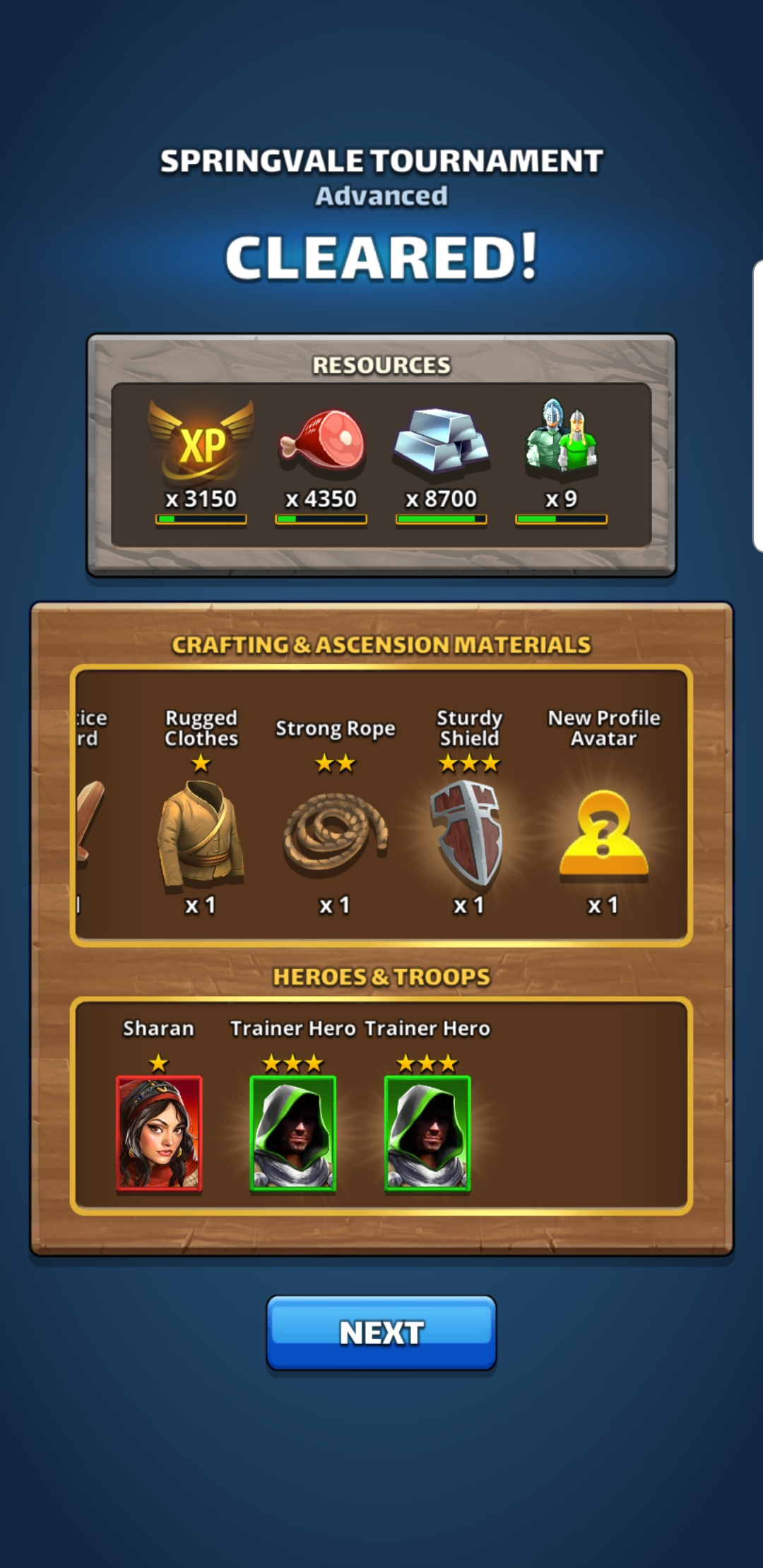 Springvale Advanced Stage 10 Gave Two, 3* Trainer. Anyone with regard to Springvale Empires And Puzzles