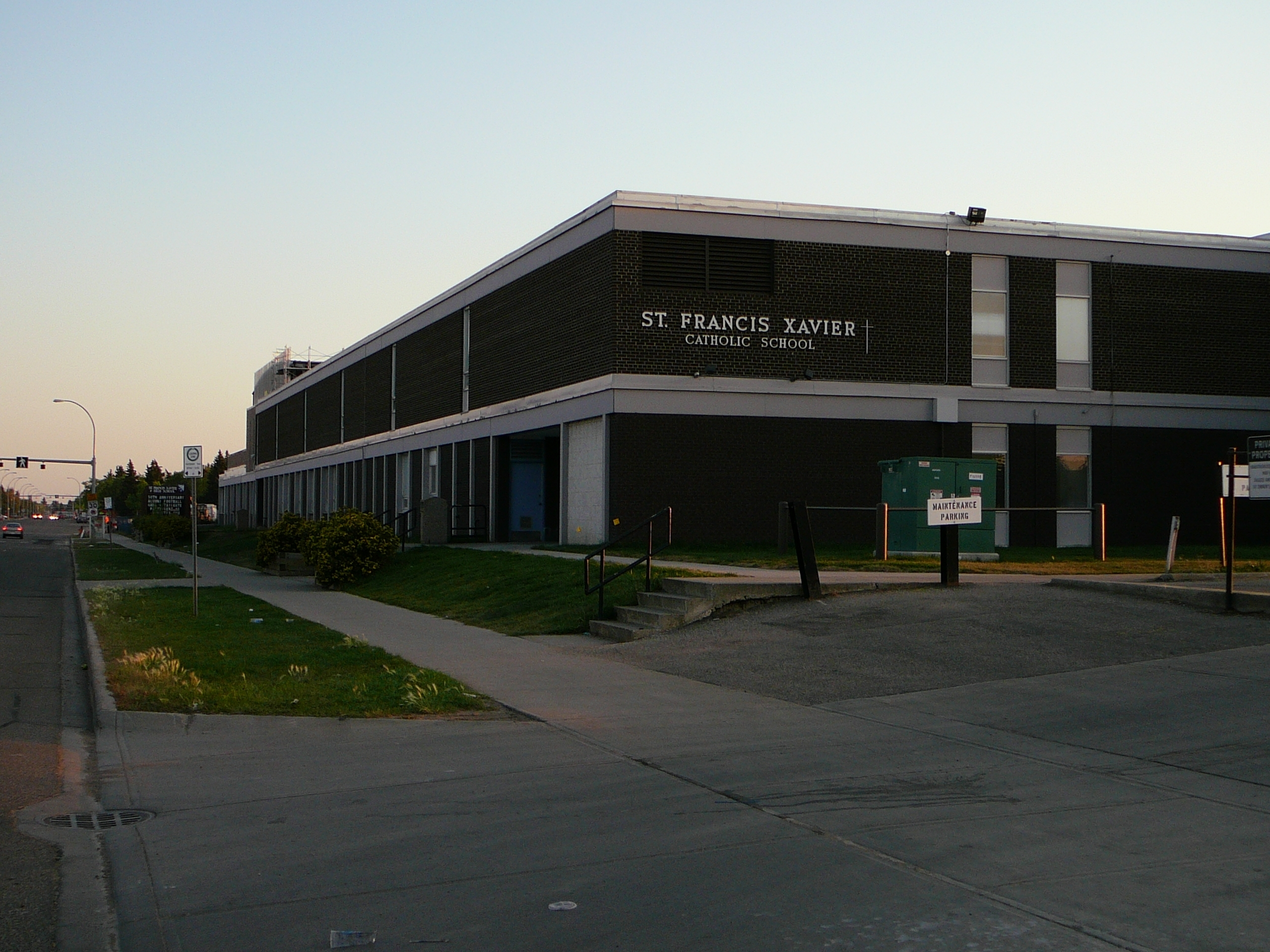 St. Francis Xavier High School (Edmonton) – Wikipedia – Jh within Jh Picard Calendar