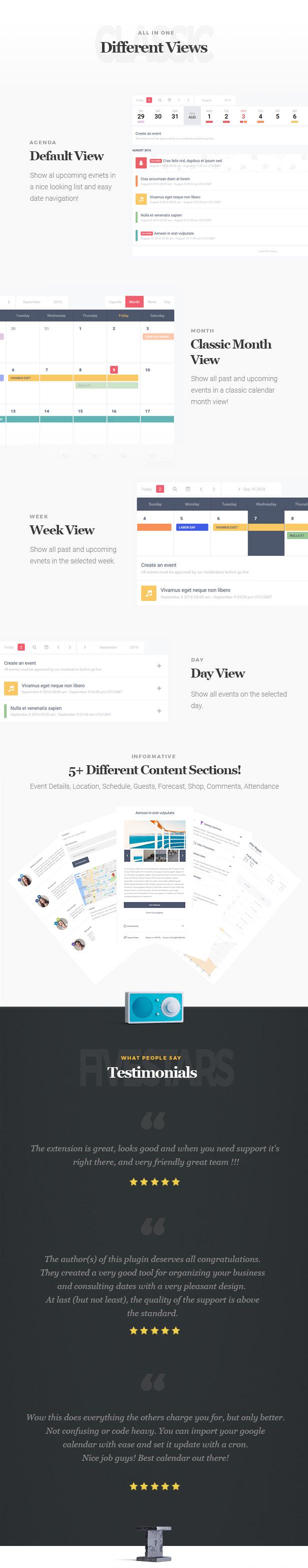 Stachethemes Event Calendar  WordPress Events Calendar inside Stachethemes Event Calendar