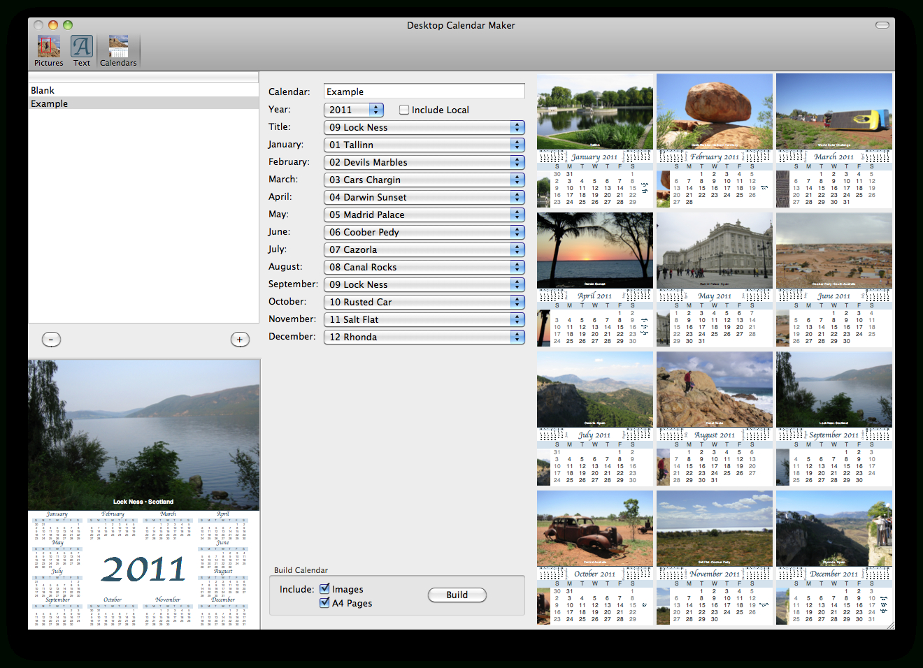 Stairways Software: Desktop Calendar Maker throughout Calendar Creator For Windows 10