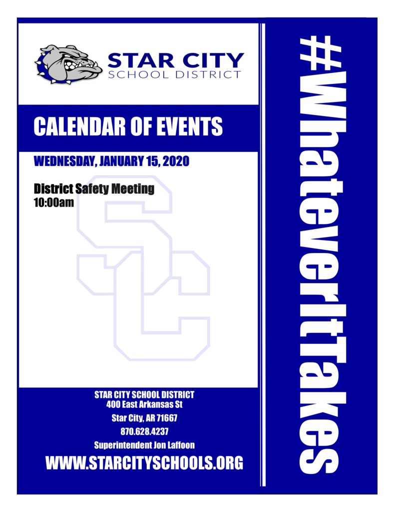 Star City Schools pertaining to J Hampton Moore School Calendar
