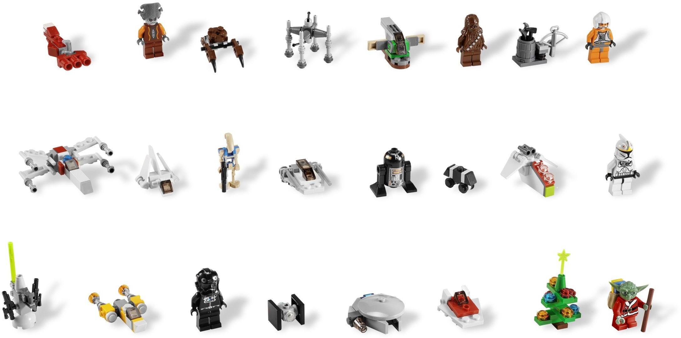 Star Wars Advent Calendar Номер 7958 Из Серии Звездные Войны for Lego 75213 Instructions