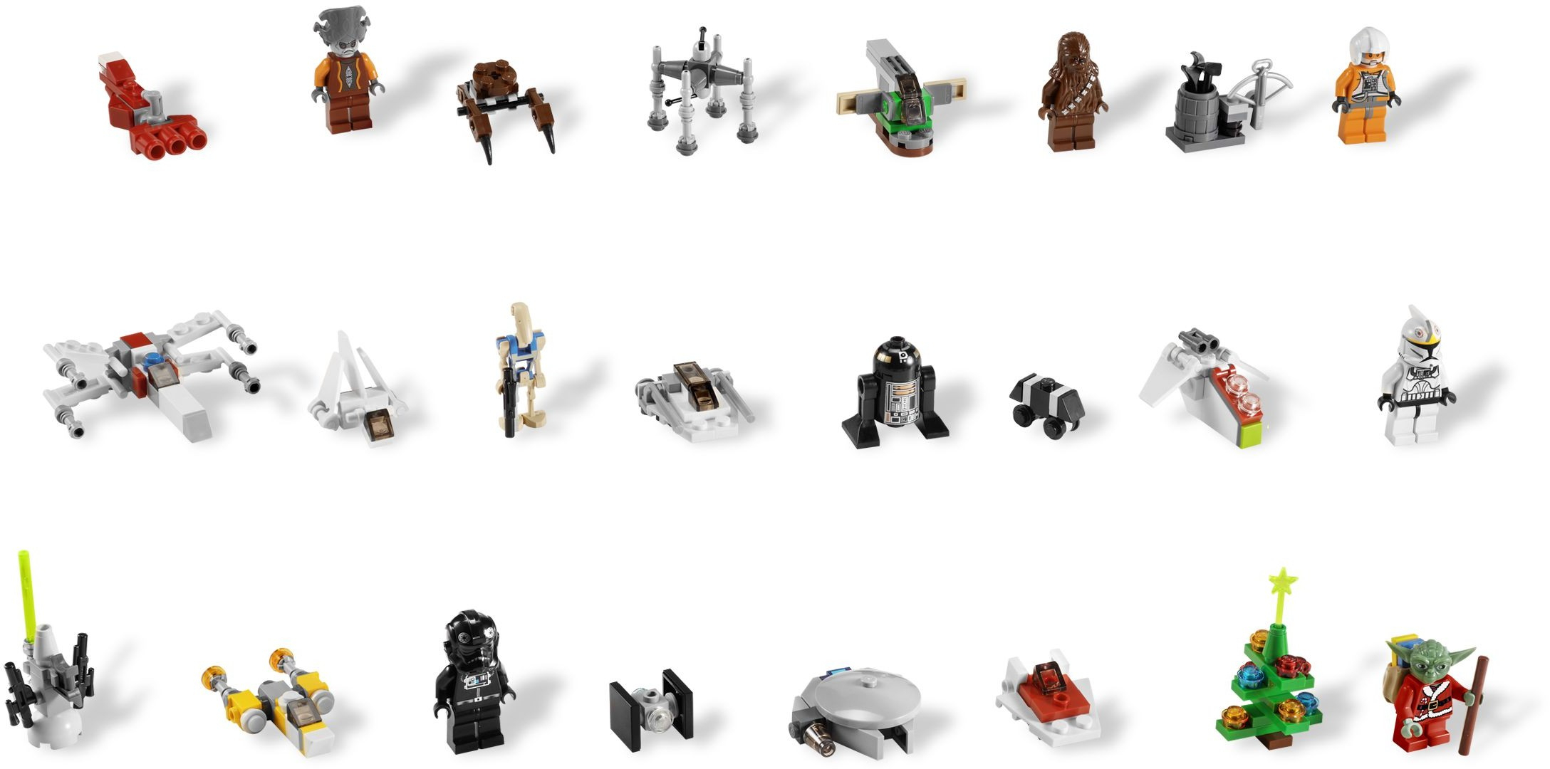 Star Wars Advent Calendar Номер 7958 Из Серии Звездные Войны in Lego Star Wars Calendar 2013