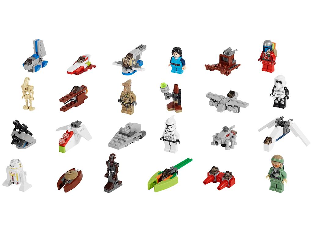 Star Wars Advent Calendar for Lego Star Wars Calendar 2013