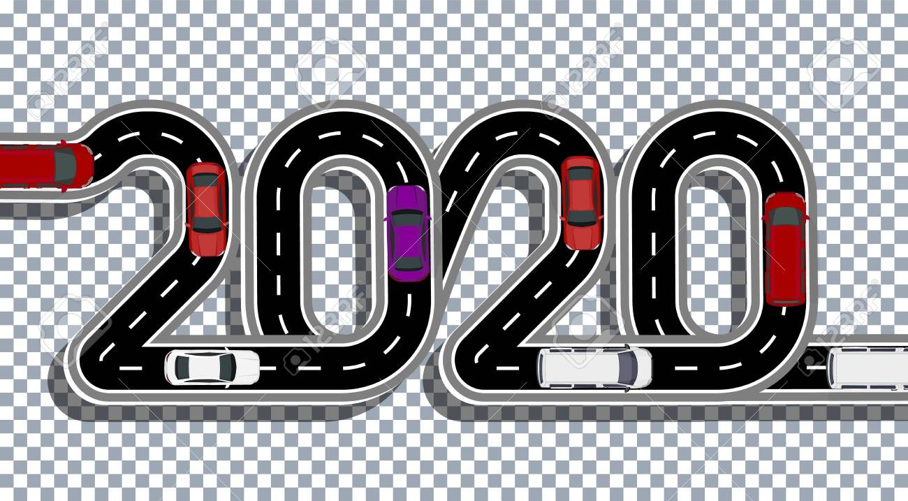 Stock Illustration inside 2020 Transparent Background
