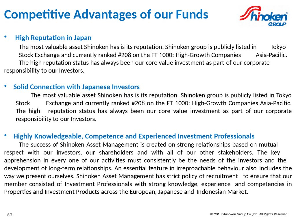 Strengthening Profitability Through Stability And with regard to Ft 1000 High-Growth Companies Asia-Pacific